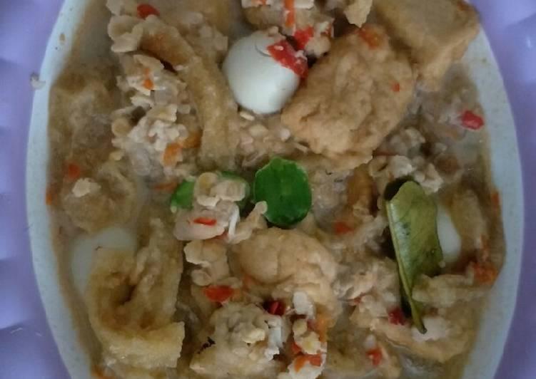 Resep memasak Sambel tumpang krecek tempe semangit (bosok) lezat
