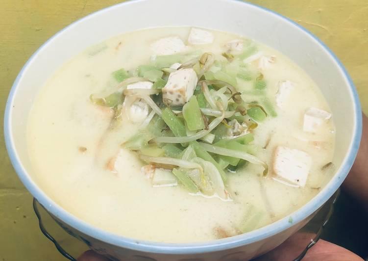 Resep membuat Sayur putih labu siam enak