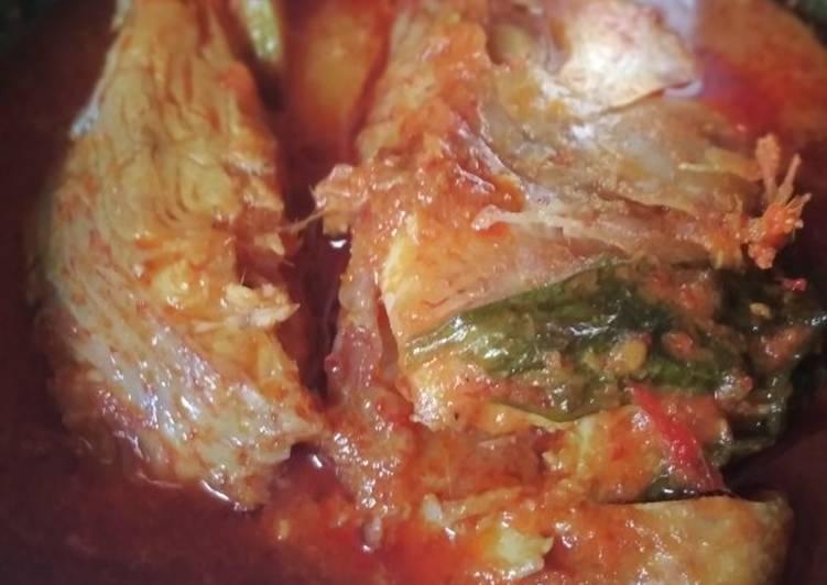 Cara memasak Asam pedas nila yang menggoyang lidah