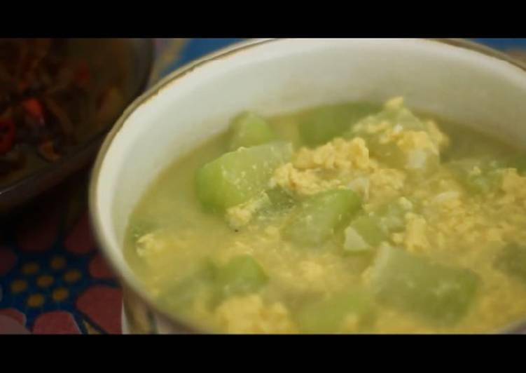 Cara Mudah mengolah Sayur Labu Siam yang menggugah selera