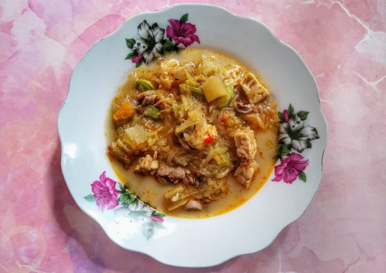 Resep: Sayur Labu Siam, Ati Ampela dan Pete Kuah Santan istimewa