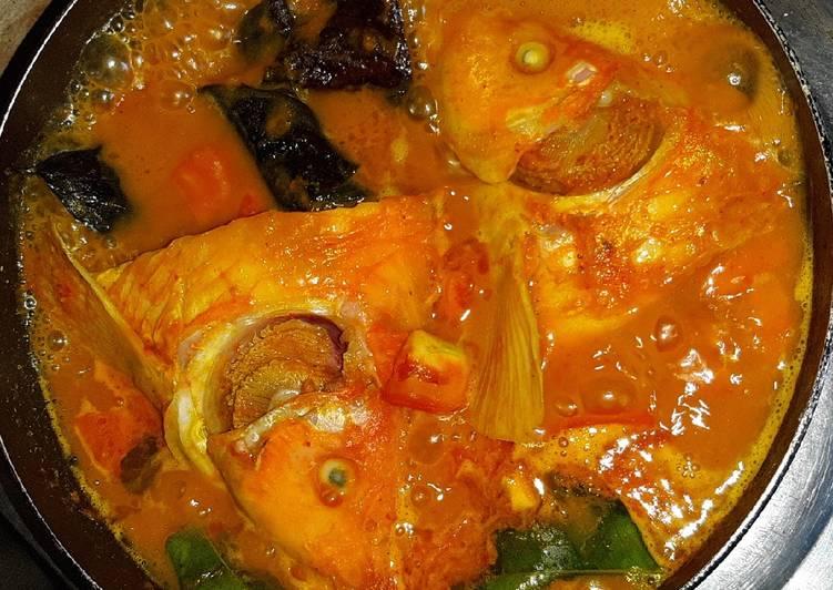 Resep: Kepala ikan asam pedas sedap