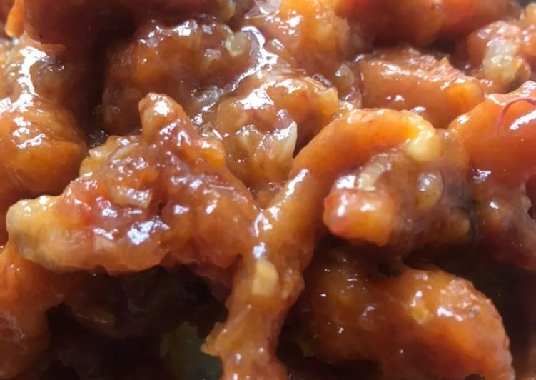 Cara Mudah membuat Ayam asam manis pedas yang menggoyang lidah