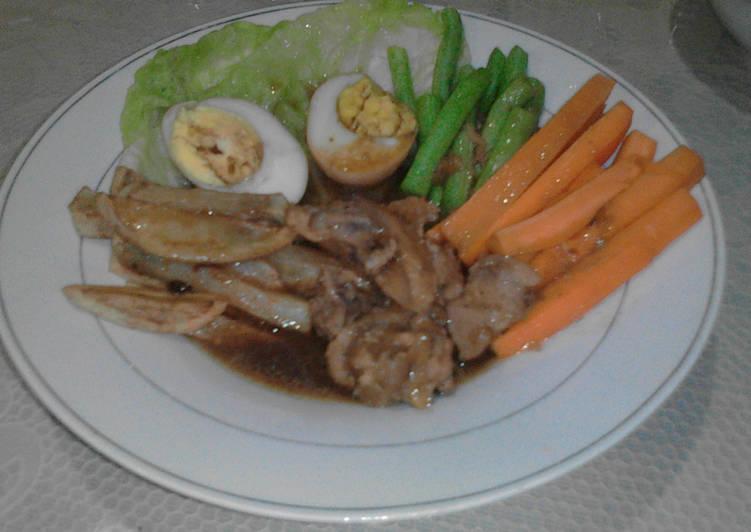 Resep: Selat Solo Ayam Simple yang bikin ketagihan