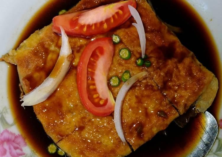 Resep: Martabak mini lumpia kuah asam pedas manis yang menggugah selera