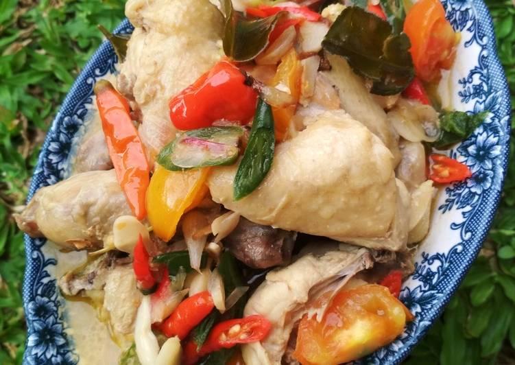 Resep mengolah Garang Asem Ayam Fibercreme yang bikin ketagihan