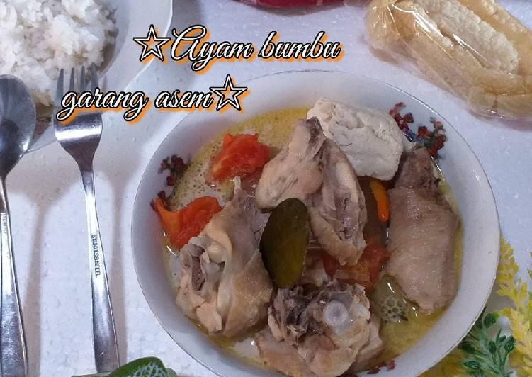 Resep: Ayam bumbu Garang Asem yang menggugah selera