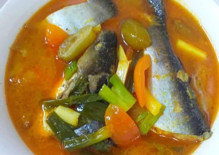 Resep memasak Garang asem ikan patin enak