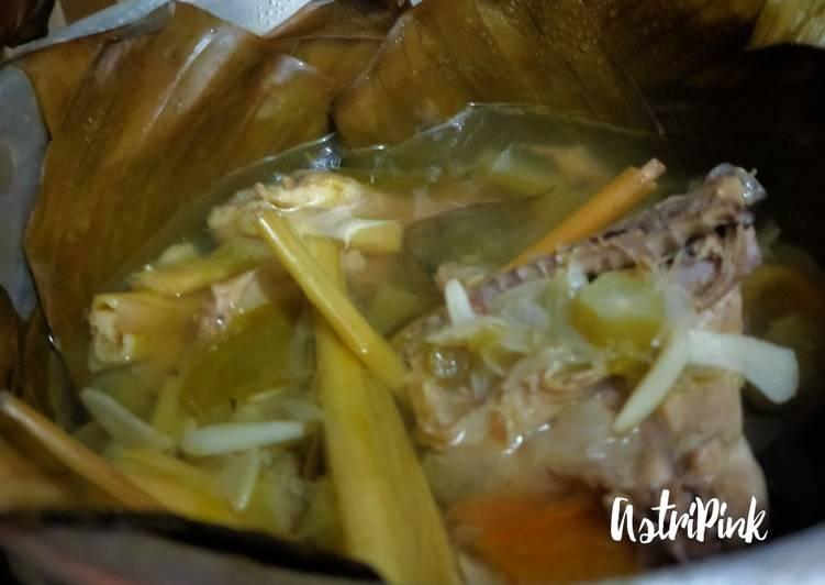 Resep: Garang Asam Ayam Kampung tanpa santan sedap