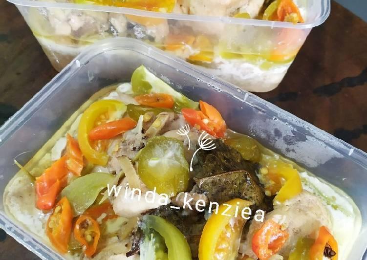 Cara mengolah Garang asem ayam lezat
