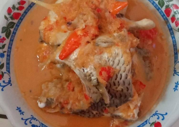 Resep: Ikan Nila asam pedas ala resto