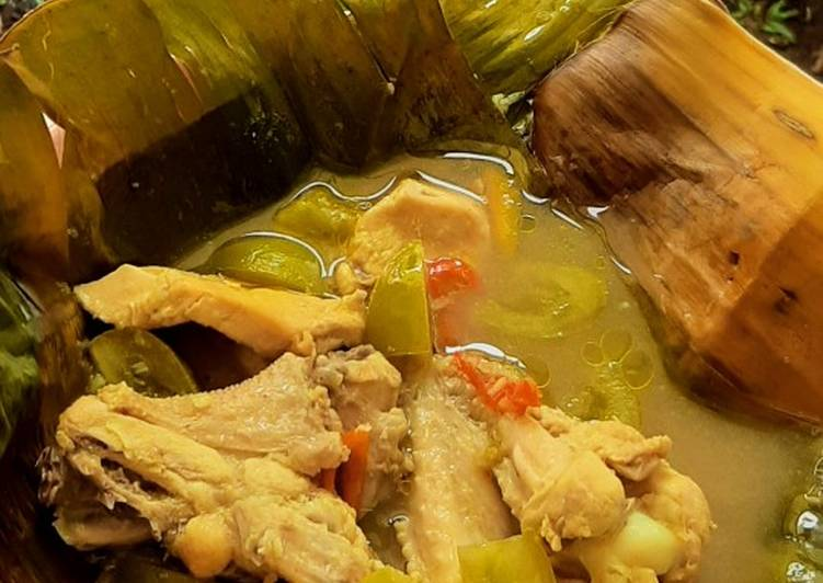 Resep: Garang asem ayam (tanpa santan) sedap