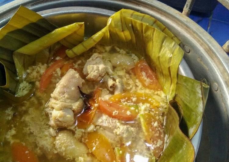 Resep memasak Garang asem ayam istimewa