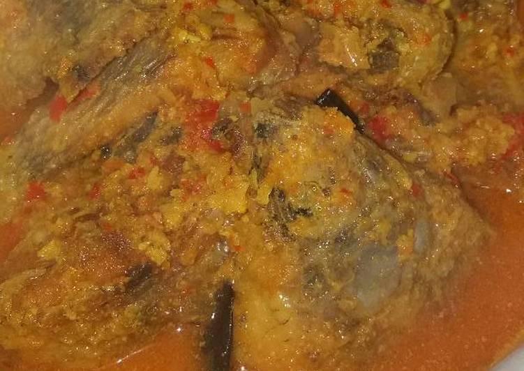 Cara membuat Gulai ikan nila merah goreng lezat