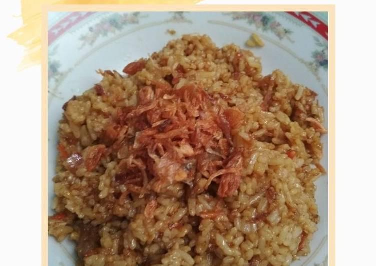Cara Mudah membuat Nasi Goreng Bumbu Gule yang bikin ketagihan