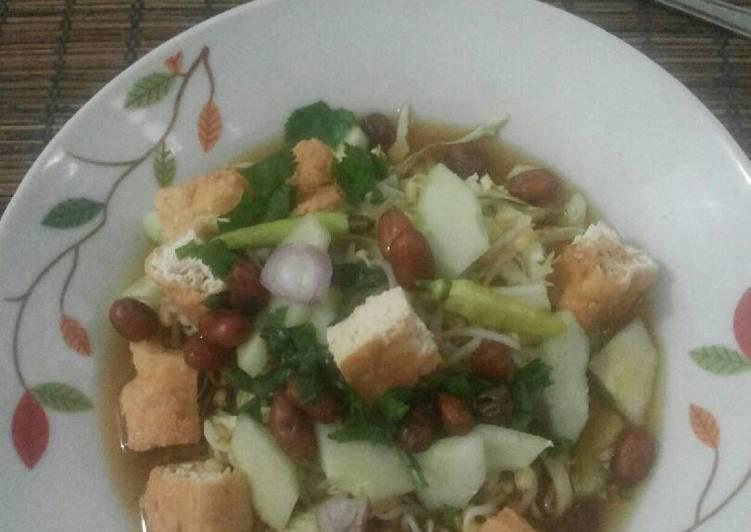 Cara memasak Tahu acar solo #sarapan day 4 yang menggugah selera