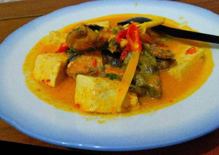 Cara Mudah membuat Gulai Acar Ikan Tofu yang menggugah selera
