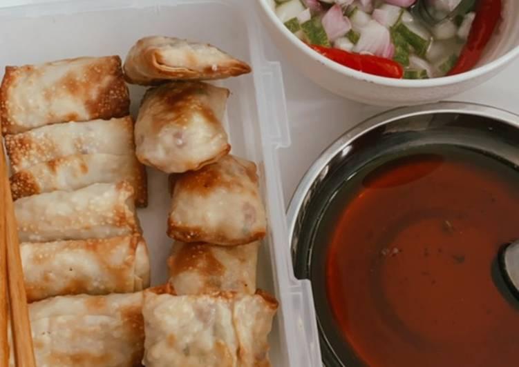 Resep memasak Martabak tahu telor 🌶💖 goreng / airfry ala resto