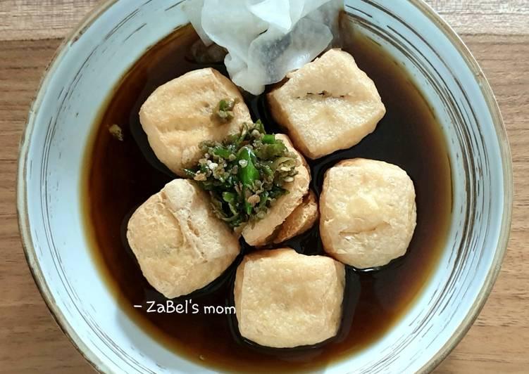 Cara memasak Tahu Pong Semarang ala resto