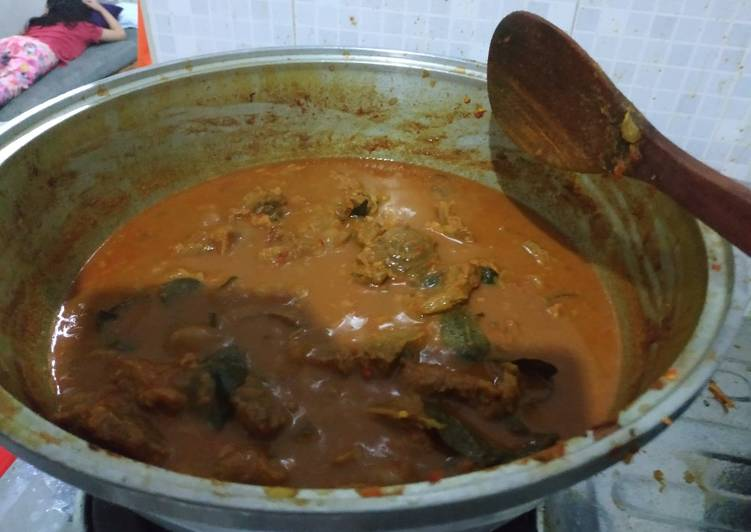 Resep: Daging Asam Pedas khas Aceh enak