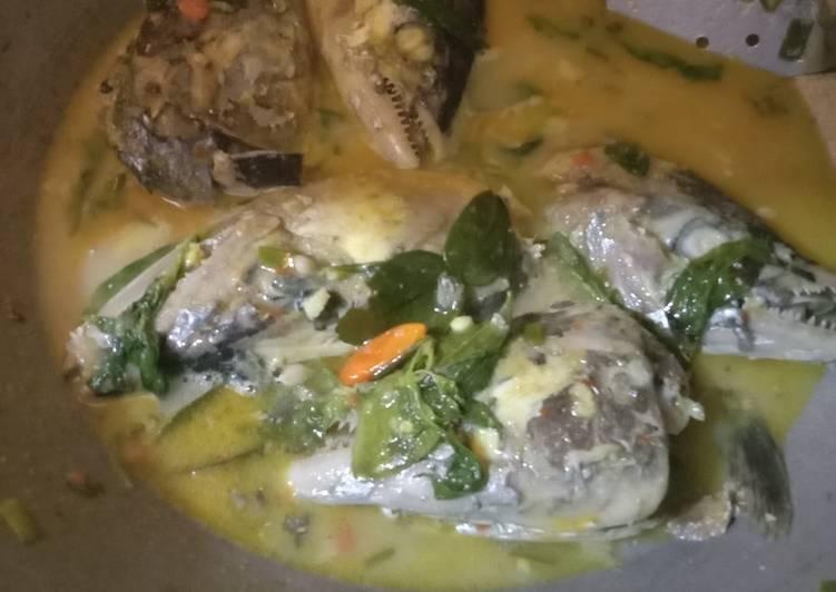 Cara Mudah memasak Asam pedas kepala ikan yang menggugah selera