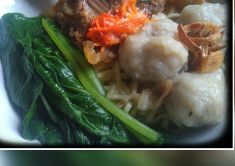 Cara Mudah memasak 🍜Mie ayam simple 🍜 istimewa