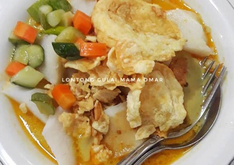 Resep: Lontong gulai khas Padang