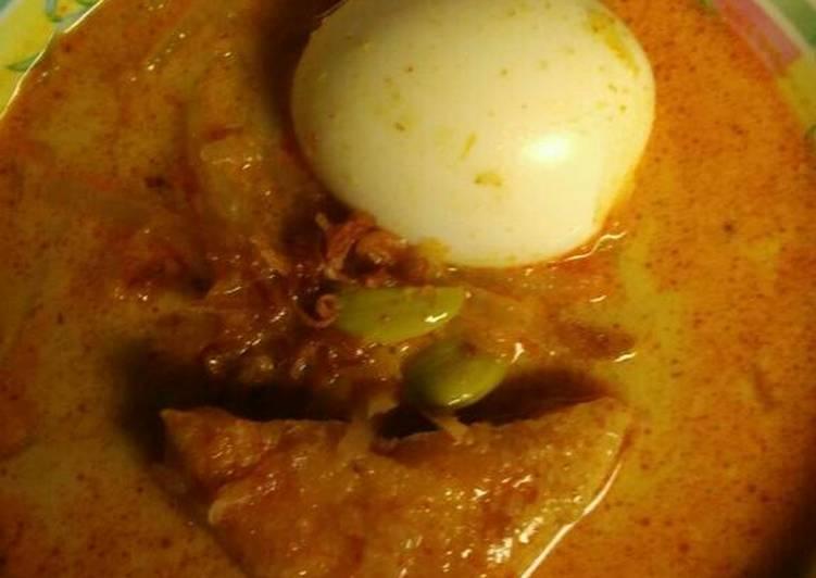 Resep: Sayur Kupat PTT (pete tahu telur)