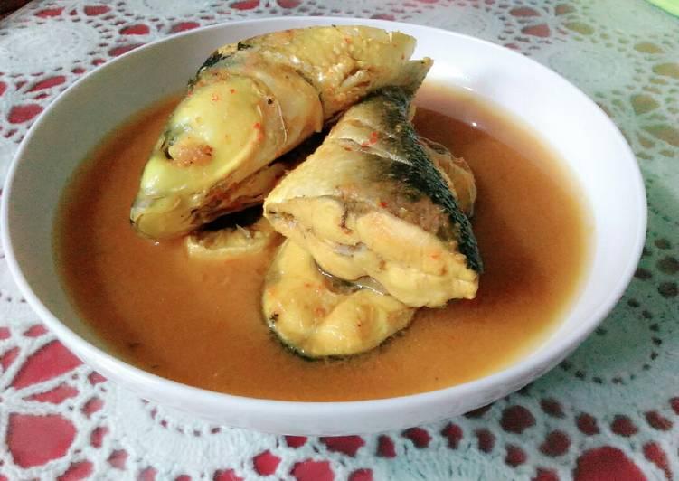 Resep mengolah Asam Keueung Eungkot Muloh (asam pedas ikan bandeng) Aceh ala resto