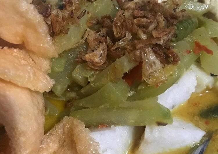 Resep: Ketupat Sayur Betawi yang menggugah selera