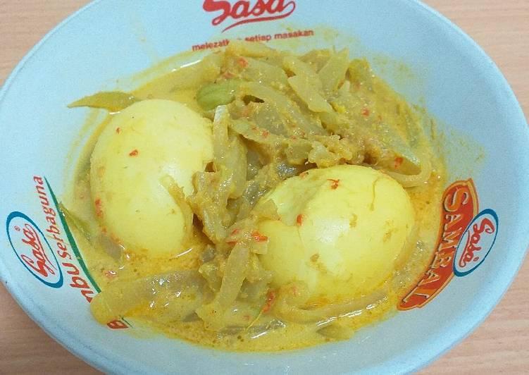 Resep: Sayur ketupat / Lontong Sayur yang bikin ketagihan