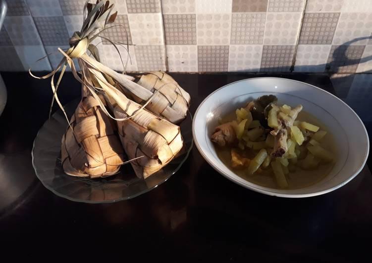 Resep: Ketupat sayur#siap ramadhan ala resto