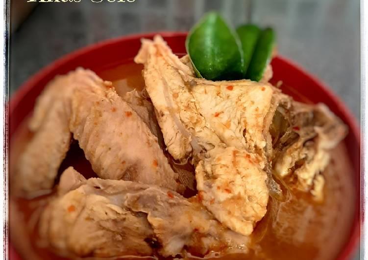 Resep membuat Tengkleng Ayam Pedas Khas Solo ala resto
