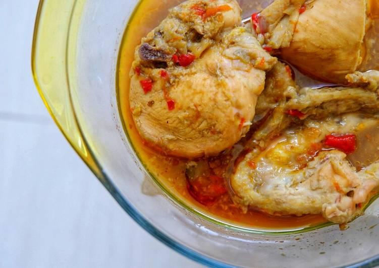 Resep: Tengkleng Ayam yang bikin ketagihan