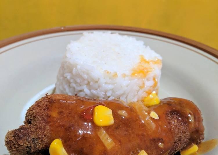 Cara Mudah memasak Ayam Pop ala kantin Nasa Polban yang menggoyang lidah