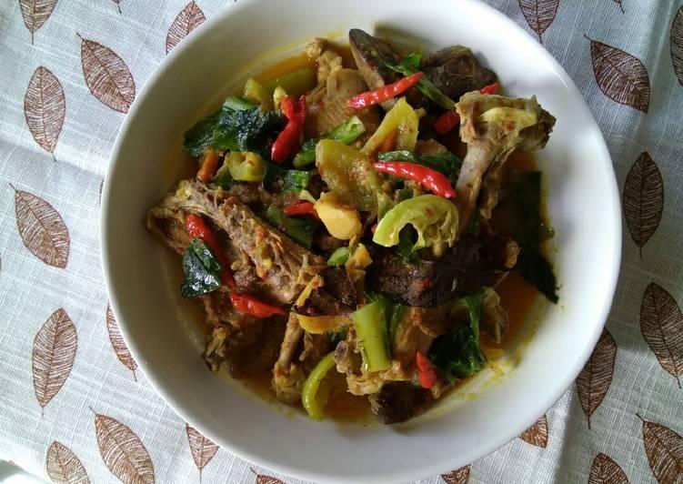 Resep memasak Tengkleng Ayam Khas Solo yang menggugah selera
