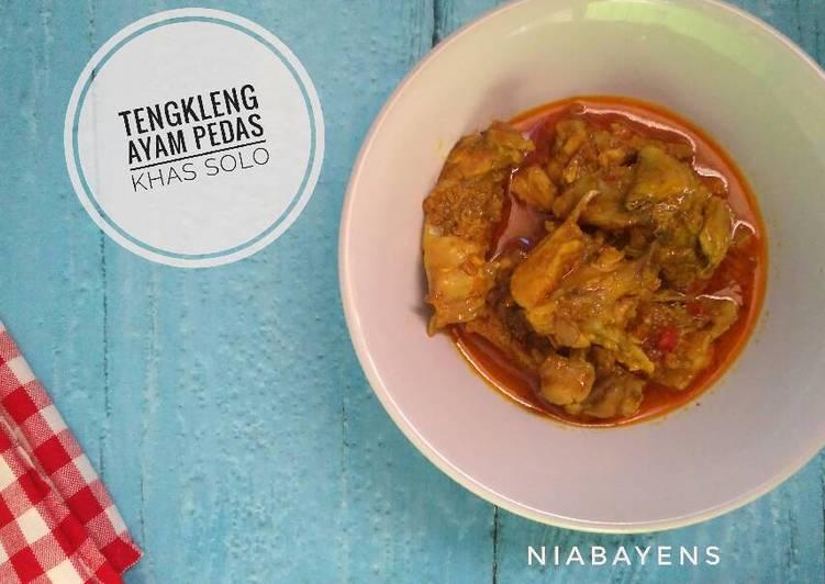 Resep: Tengkleng ayam pedas khas solo (#pr_recookmasakanpedas) yang bikin ketagihan