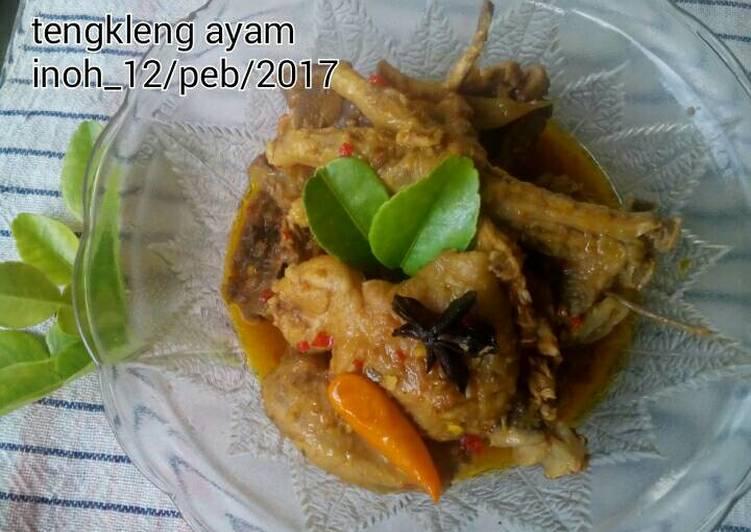 Resep: Tengkleng ayam (ala pak mul masaran) lezat
