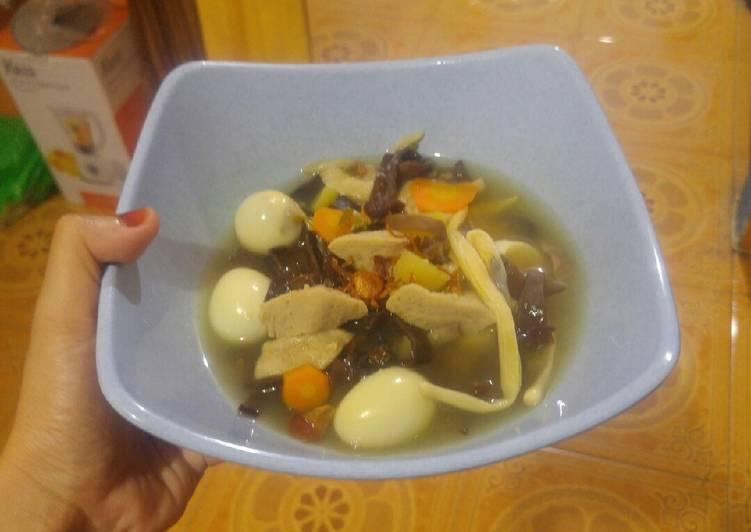 Cara mengolah Sop Timlo lezat
