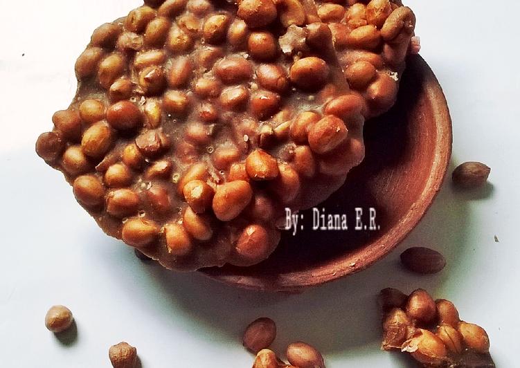 Resep: Ampyang Kacang / Gula Kacang ala resto