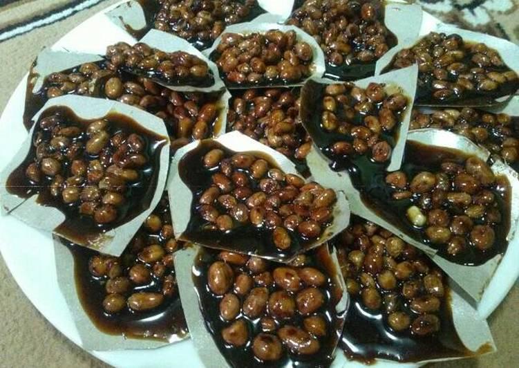 Resep: Ampyang kacang jahe lezat