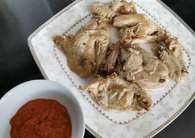 Resep: Ayam Pop Sederhana yang menggoyang lidah
