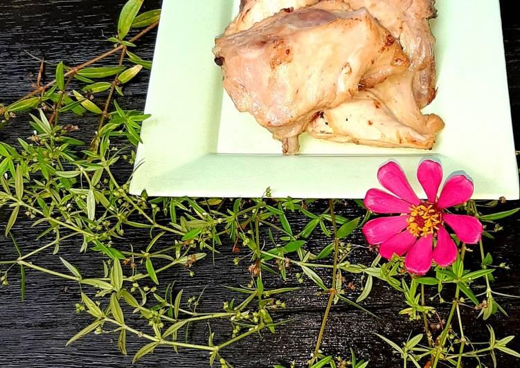 Ayam Pop ala RM Padang sederhana