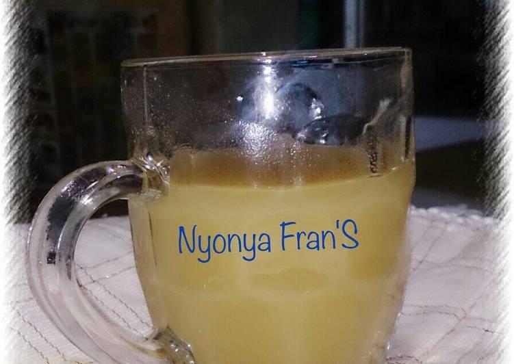 Cara Mudah memasak Resep jamu beras kencur By Nyonya fran'S ala resto