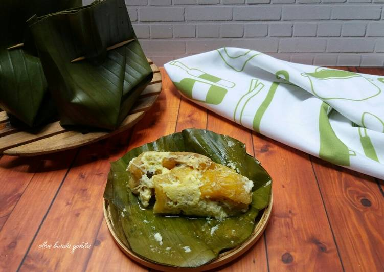 Cara membuat Carang gesing pisang tanduk lezat
