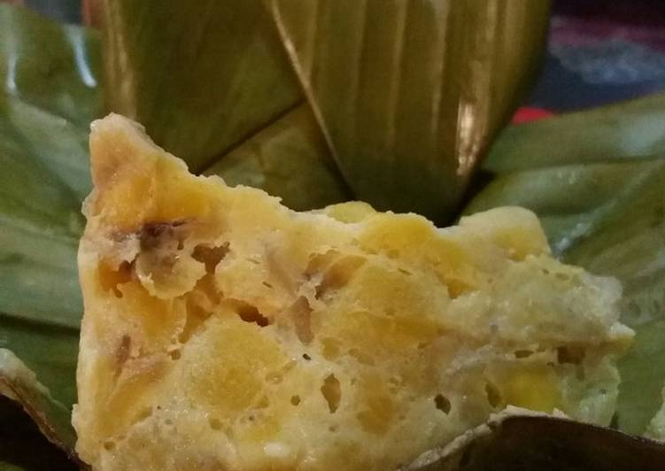 Cara Mudah membuat Caranggesing /Bongko pisang enak