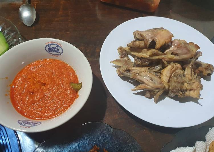 Cara membuat Ayam pop yang bikin ketagihan