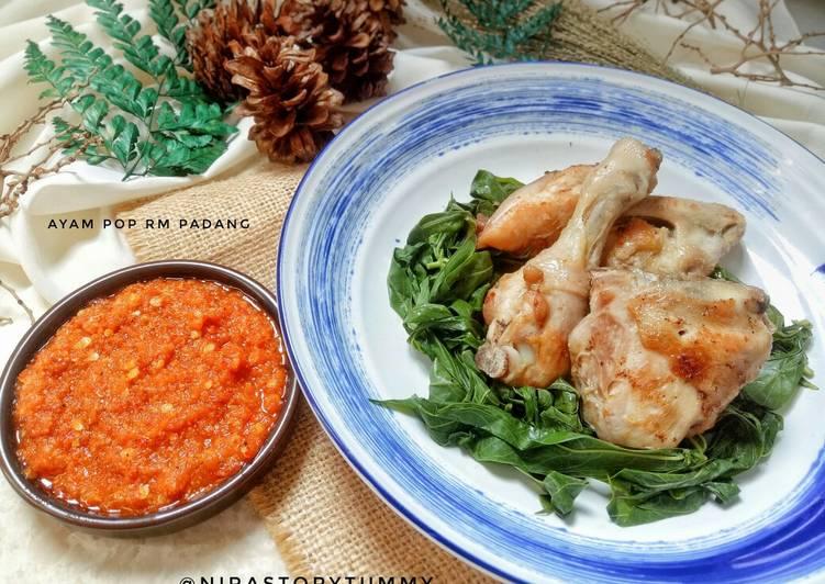 Resep: Ayam Pop Rm Padang yang bikin ketagihan