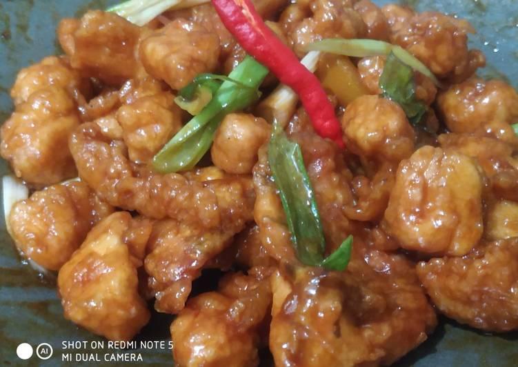 Resep: Ayam pop saus tiram yang menggoyang lidah