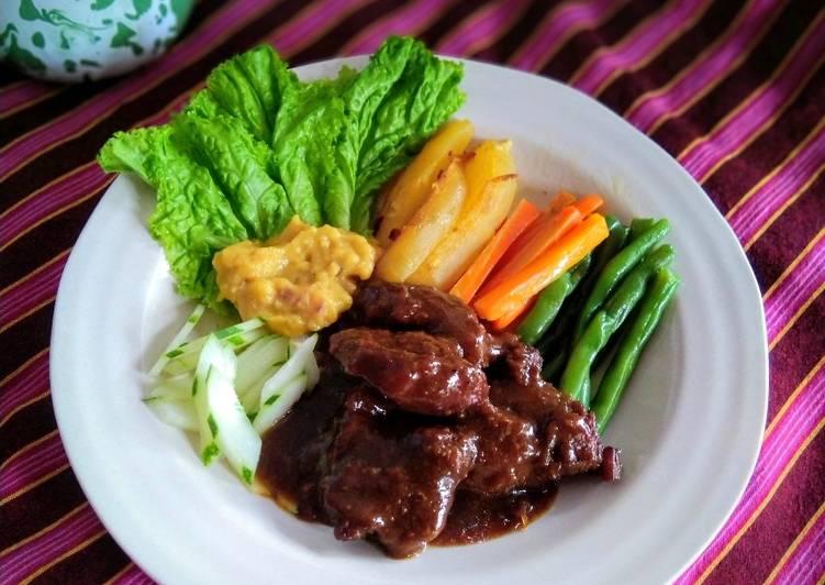 Cara memasak Bistik Jawa yang menggugah selera